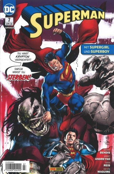 Superman 7 Cover