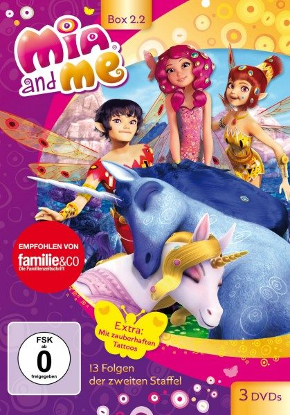 Mia and Me - Staffel 2 - Box 2.2 (Vol. 14-26)