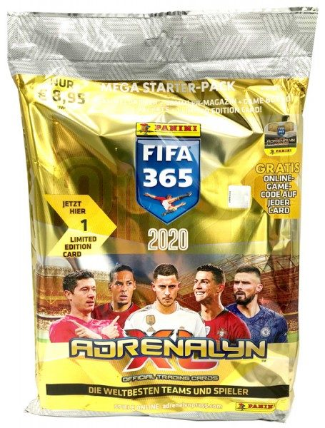 Panini FIFA 365 Adrenalyn XL 2020 Kollektion – Starterset
