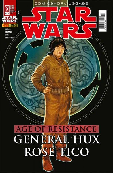 Star Wars 63 General Hux & Roes Tico - Comicshop-Ausgabe Cover
