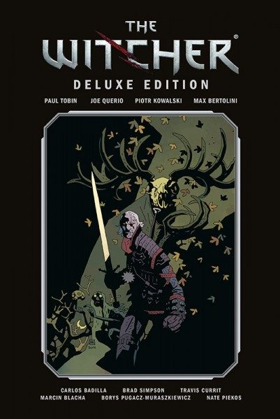 The Witcher Deluxe Edition 1 Cover