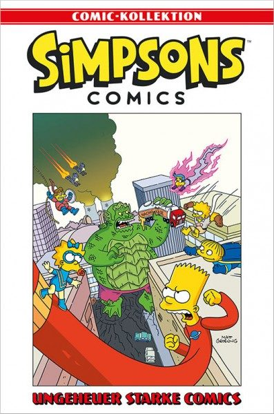 Simpsons Comic-Kollektion 57: Ungeheuer starke Comics Cover