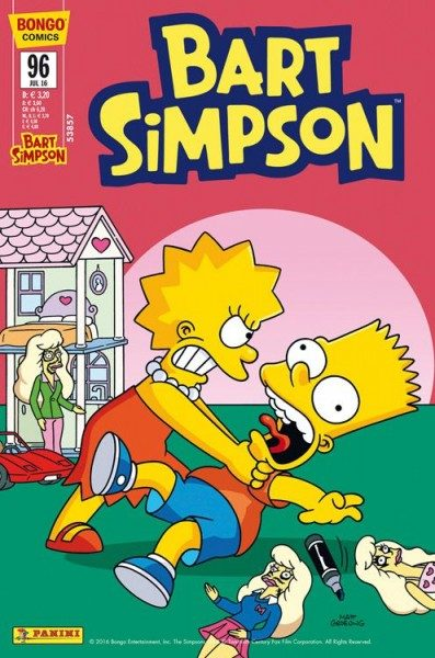 Bart Simpson Comics 96