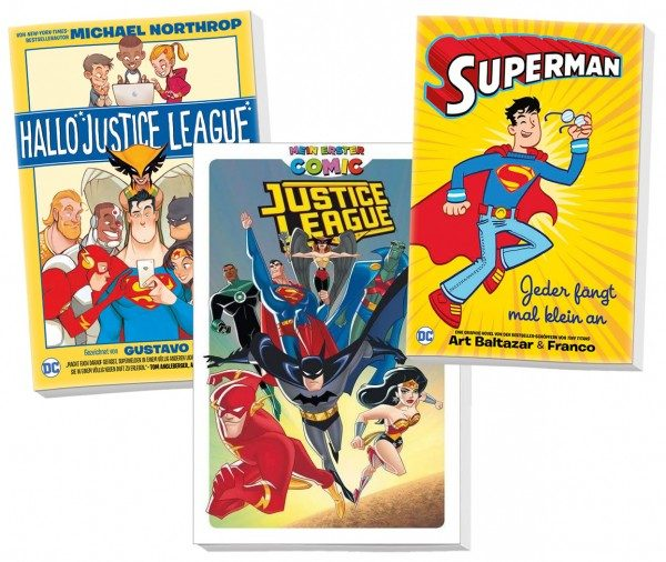 Justice League - Bundle für Kids