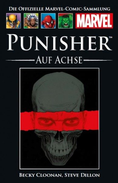 Hachette Marvel Collection 173 - Punisher - Auf Achse Cover