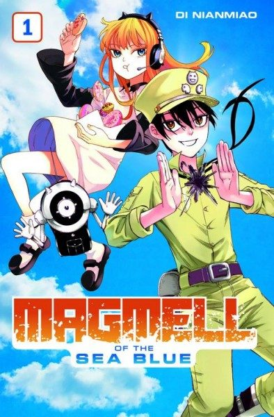 Magmell of the Sea Blue 1 Cover