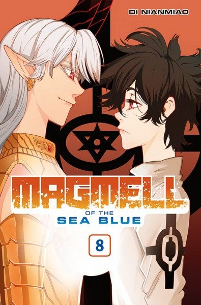 Magmell of the Sea Blue 8 Cover