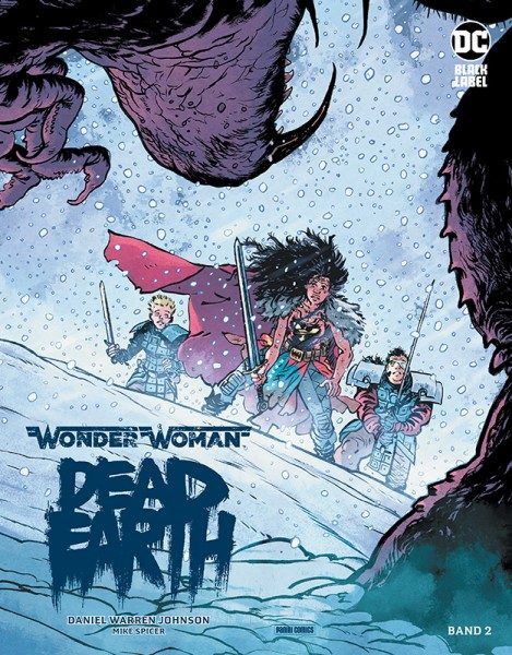 Wonder Woman: Dead Earth 2 Cover
