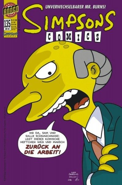 Simpsons Comics 135