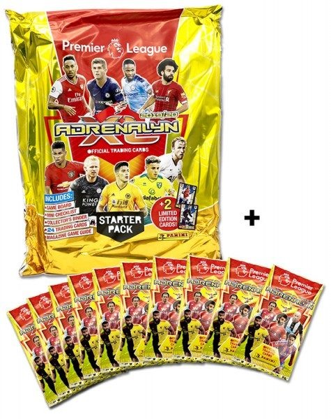 Panini Premier League Adrenalyn XL 2019/20 Kollektion – Starter-Bundle 1