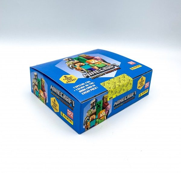 Minecraft Trading Cards - Box mit 18 Tüten - Box Front