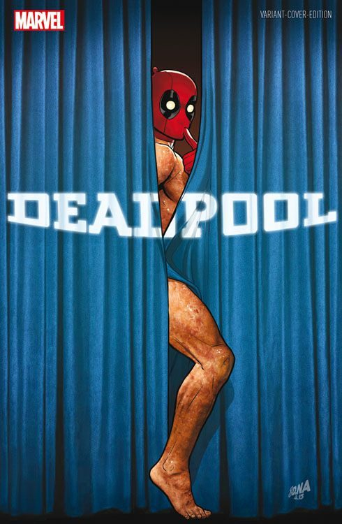 Deadpool 8 (2016) Variant