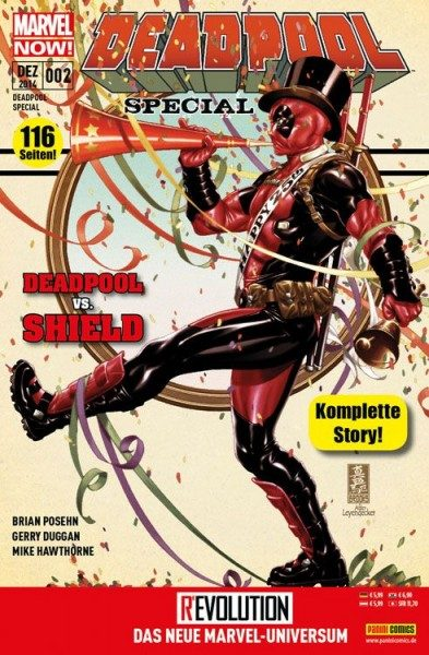 Deadpool Special 2 - Deadpool vs. Shield