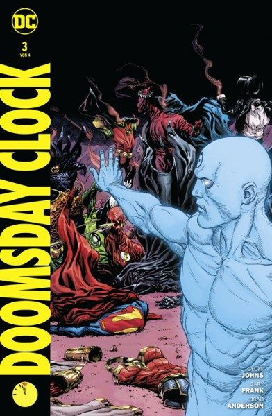 Doomsday Clock 3 Variant Cover