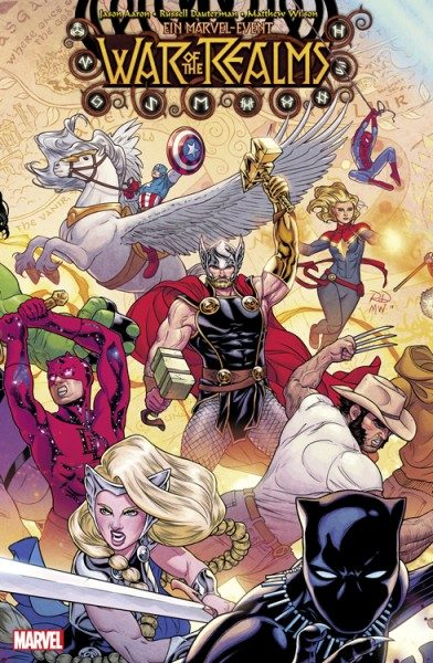 War of the Realms 1 Variant Cover