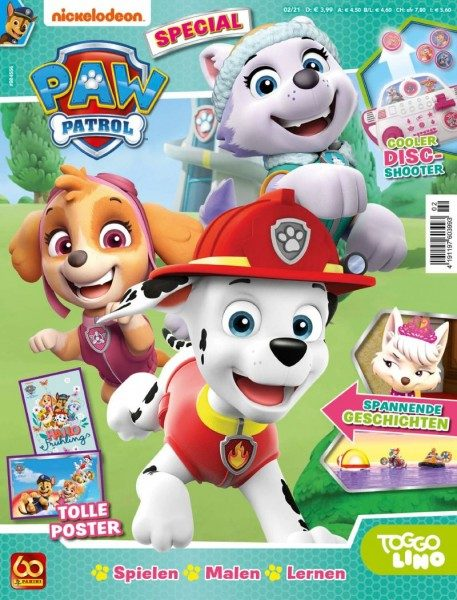 Paw Patrol Special Magazin 02/21 Cover