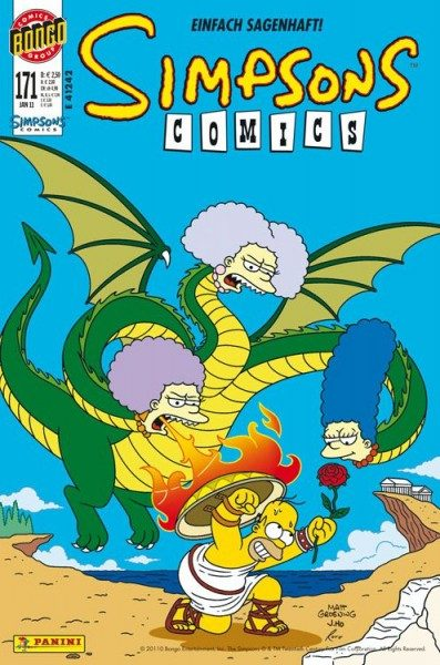 Simpsons Comics 171