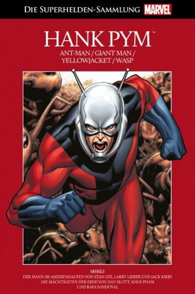 Die Marvel Superhelden Sammlung 35 - Hank Pym (Ant-Man)