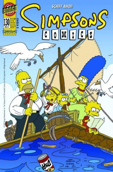 Simpsons Comics 130