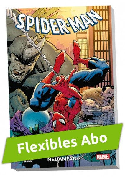 Flexibles Abo - Spider-Man Paperback