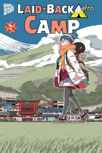 Laid-Back Camp 7 Cover