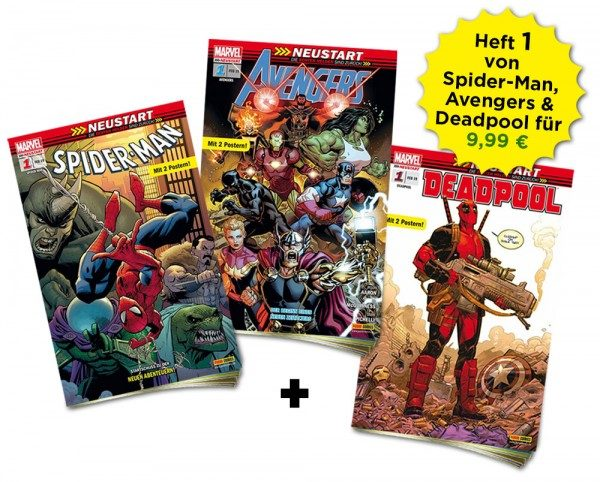 Marvel Heftserien Schnupper-Bundle