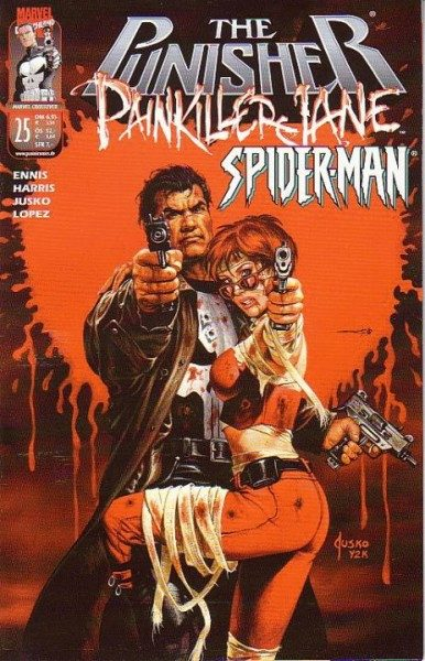 Marvel Crossover 25 - The Punisher/Painkiller Jane/Spider-Man
