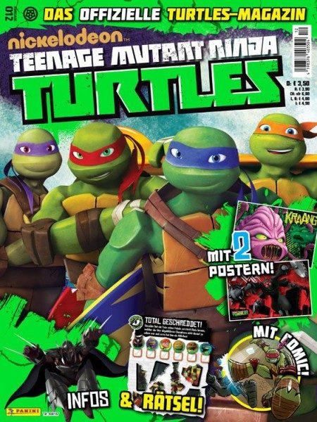 Teenage Mutant Ninja Turtles - Magazin 12