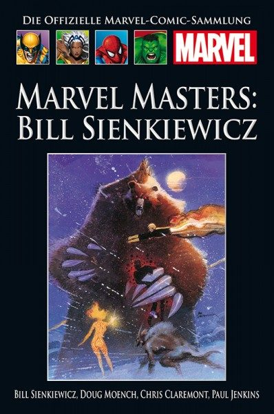 Hachette Marvel Collection 210 - Marvel Masters - Bill Sienkiewicz Cover