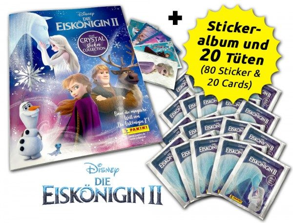 Disney: Die Eiskönigin 2 - Cristal Edition - Sticker und Cards - Sammelbundle