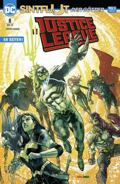Justice League 8 Cover