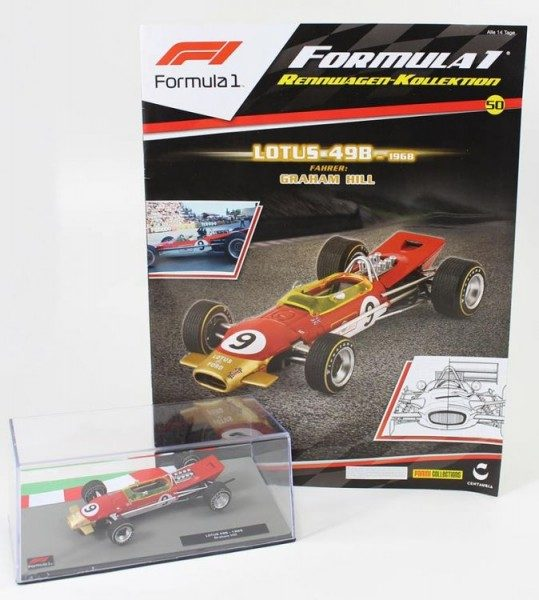 Formula 1 Rennwagen-Kollektion 50 - Graham Hill (Lotus 49B)