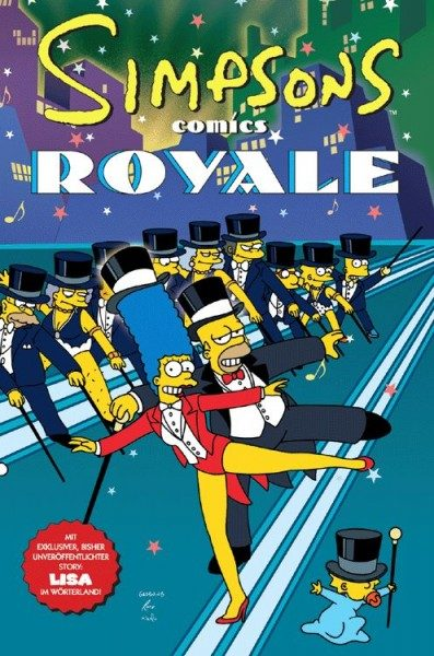 Simpsons Sonderband 12 - Simpsons Royal