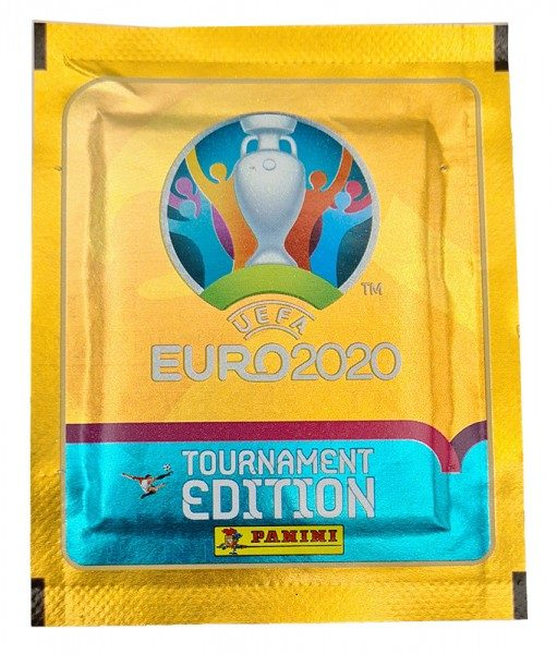 UEFA EURO 2020™ Tournament Edition - Offizielle Stickerkollektion - Tüte