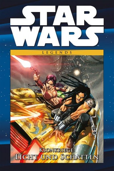 Star Wars Comic-Kollektion 116 - Klonkriege - Licht und Schatten Cover