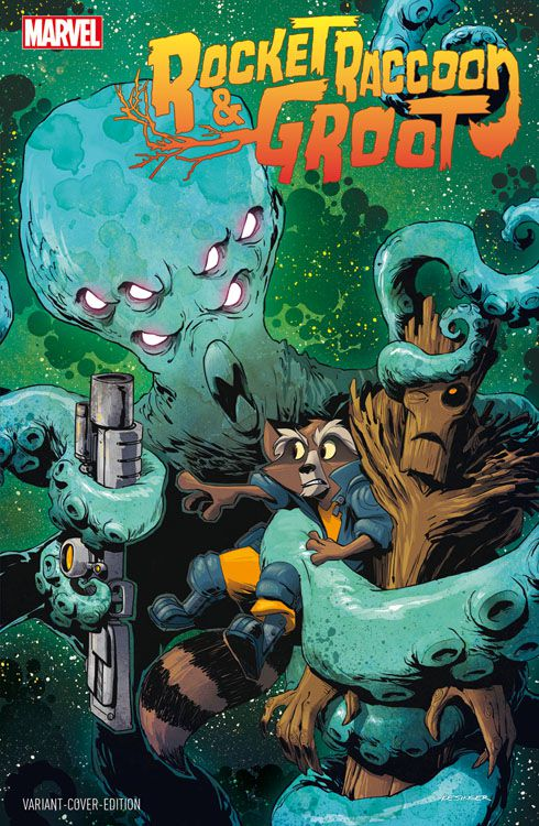 Rocket Raccoon & Groot 1 Variant -...