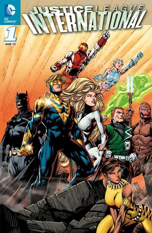 Justice League International 1 - Die...