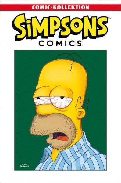 Simpsons Comic-Kollektion 2: Traummänner Cover