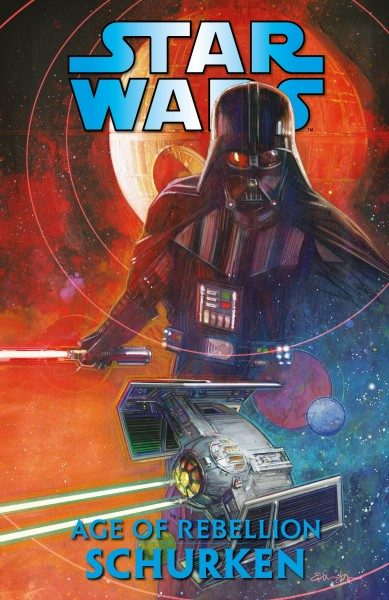 Star Wars Age of Rebellion - Schurken Cover