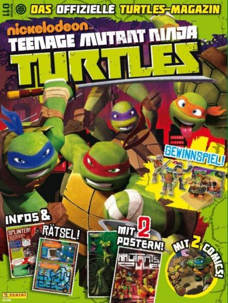Teenage Mutant Ninja Turtles - Magazin 11