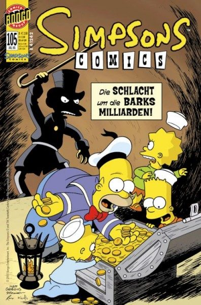 Simpsons Comics 105