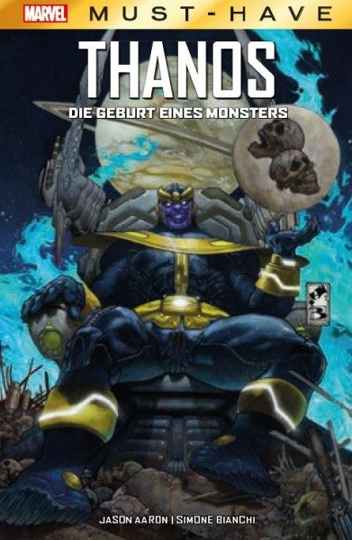 Marvel Must-Have: Thanos - Die Geburt eines Monsters Cover