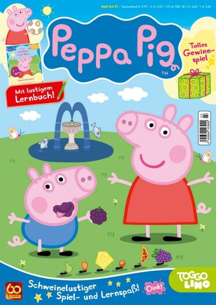 Peppa Pig Magazin 03/21 Cover