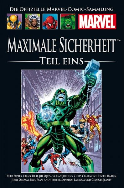 Hachette Marvel Collection 203 - Maximale Sicherheit, Teil I Cover