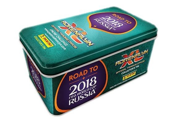 Road To FIFA World Cup Russia 2018 Adrenalyn XL - Collectors Tin