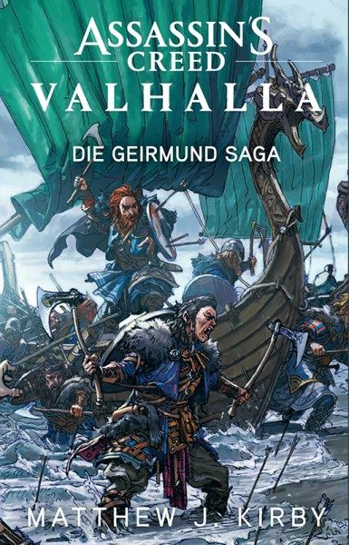 Assassin's Creed Valhalla - Roman zum Game Cover