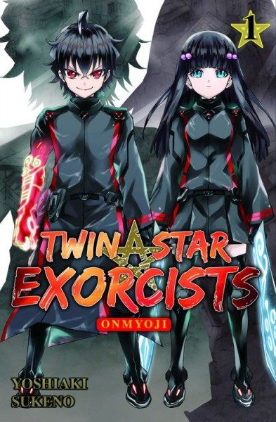 Twin Star Exorcists: Onmyoji 1 Cover