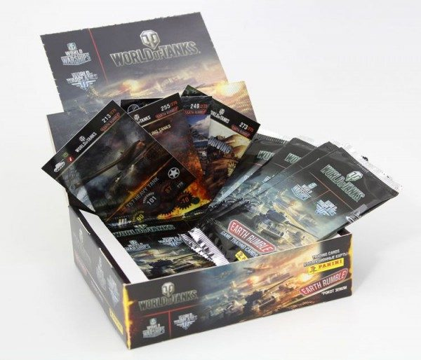 World of Tanks Trading Cards - Box