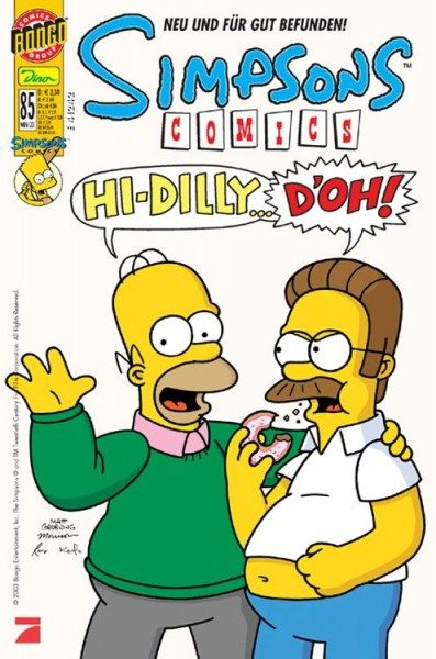 Simpsons Comics 85