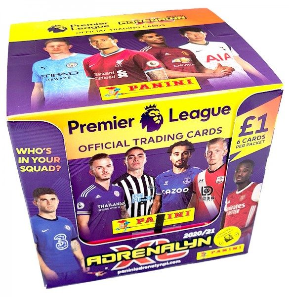 Panini Premier League Adrenalyn XL 2020/21 Kollektion – Box